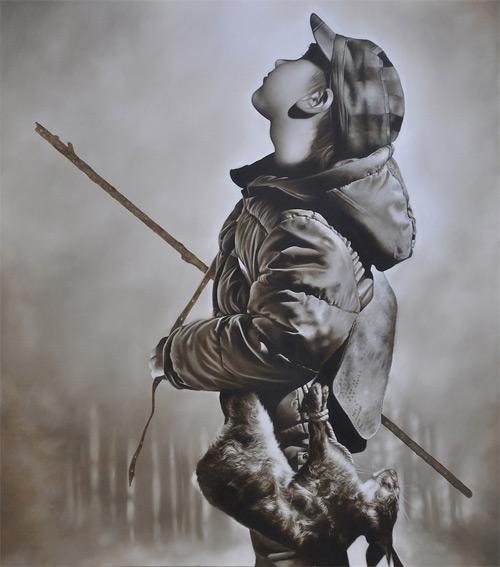 Artist painter Michael Peck