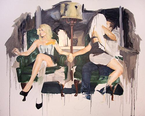 Artist painter Adam Lupton