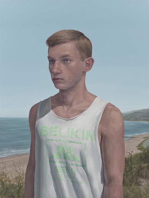 Artist painter Christopher Murphy