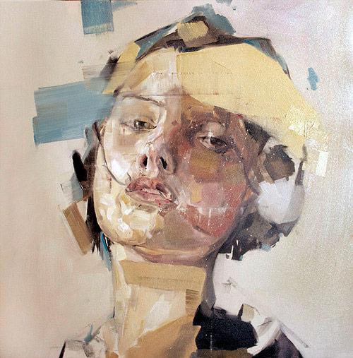 Artist painter Benjamin Garcia