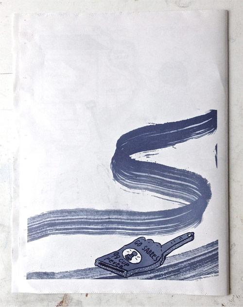 Artist illustrator Courtney Rose