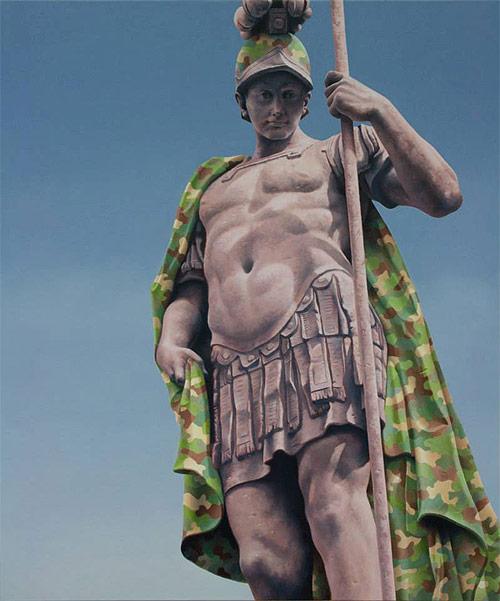 Artist painter Matthew Quick
