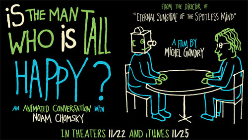 New Michel Gondry Film! Is The Man Who Is Tall Happy? Official Trailer