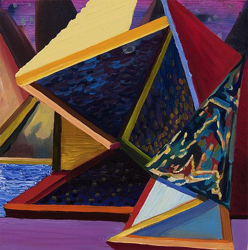 Artist painter Rachel MacFarlane