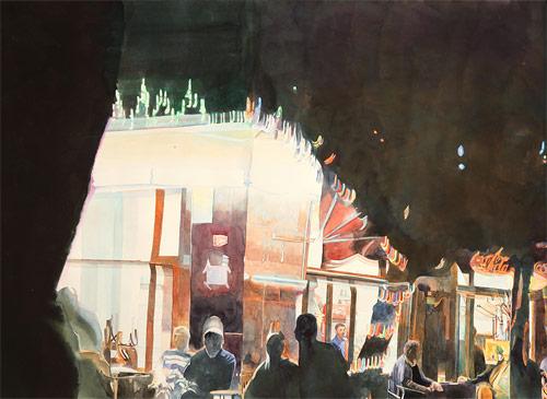 Artist painter Rebecca Bird