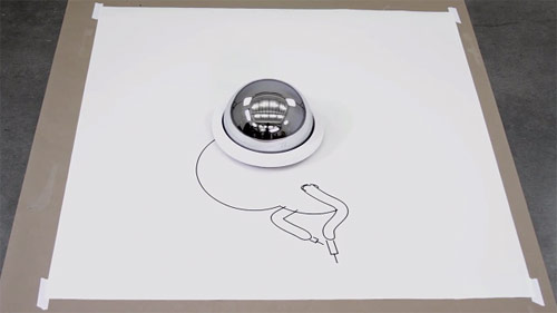 Robot Created Drawings by Matthias Dörfelt
