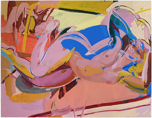 Artist painter Sarah Awad