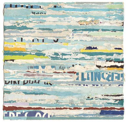works by artist lisa hochstein made from salvaged paper