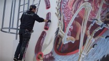 artist nychos painting vienna austria