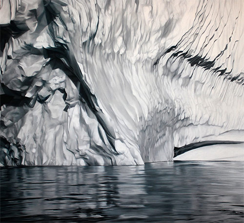 pastel drawings of greenland chasing light by artist zaria forman-forman_07
