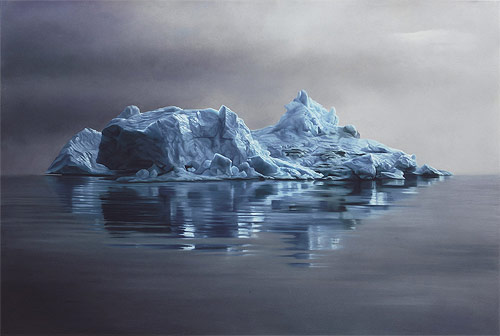 pastel drawings of greenland chasing light by artist zaria forman-forman_12