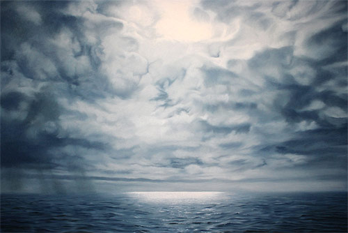 pastel drawings of greenland chasing light by artist zaria forman-forman_14