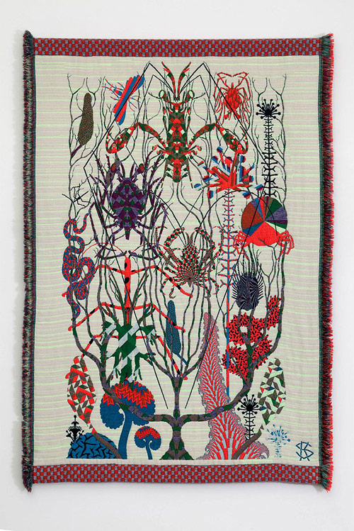 kustaa-saksi-Hypnopompic Tapestries by artist Kustaa Saksi