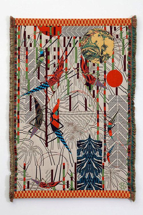 Hypnopompic Tapestries by artist Kustaa Saksi-saksi-12