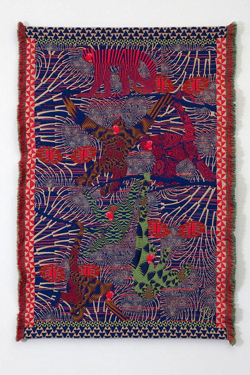 Hypnopompic Tapestries by artist Kustaa Saksi-saksi-15