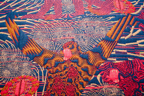 Hypnopompic Tapestries by artist Kustaa Saksi-saksi-16