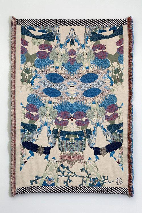 Hypnopompic Tapestries by artist Kustaa Saksi-saksi-18