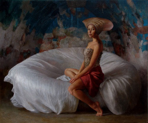 paintings by Ricardo Fernandez Ortega