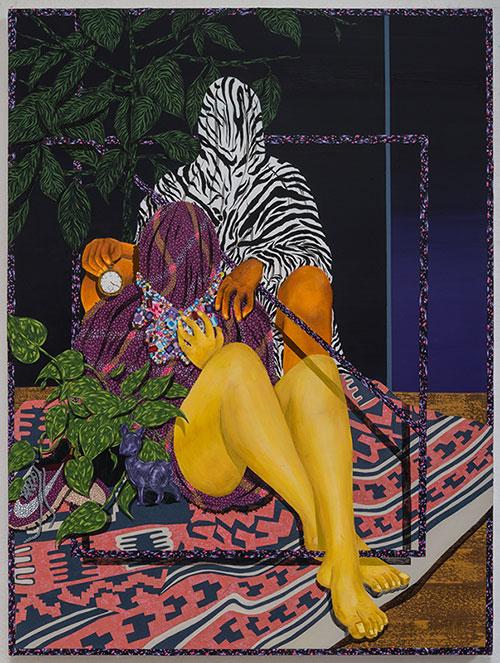 paintings by Amir H. Fallah