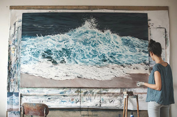 chalk pastel drawings by artist zaria forman