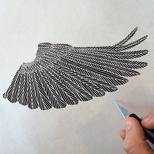 Incredibly Intricate Paper Cut Works By Artist Maude White - Intricate hand cut paper art maude white