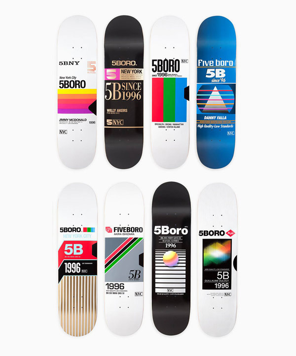 VHS Skateboard Series by 5Boro – BOOOOOOOM! – CREATE
