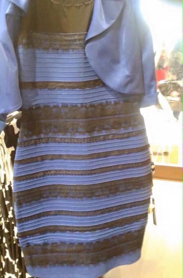 Trippy image of the day: is this dress white and gold or blue and
