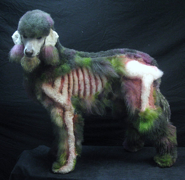 Google Image Search Inspiration: Poodle Grooming Art