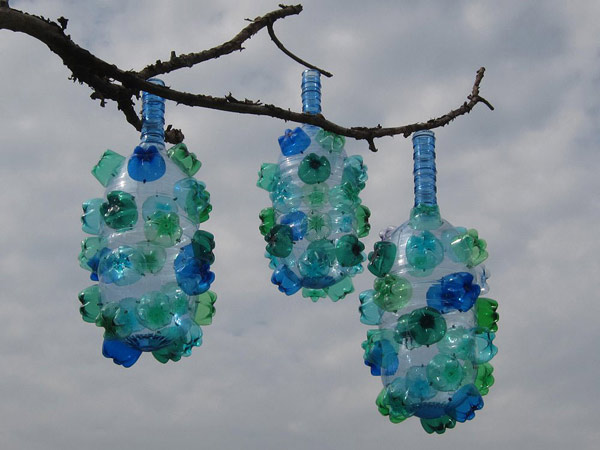 Arts And Crafts With Recycled Water Bottles