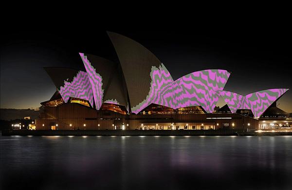 universal everything s wondrous projections on the sydney opera house booooooom create. Black Bedroom Furniture Sets. Home Design Ideas