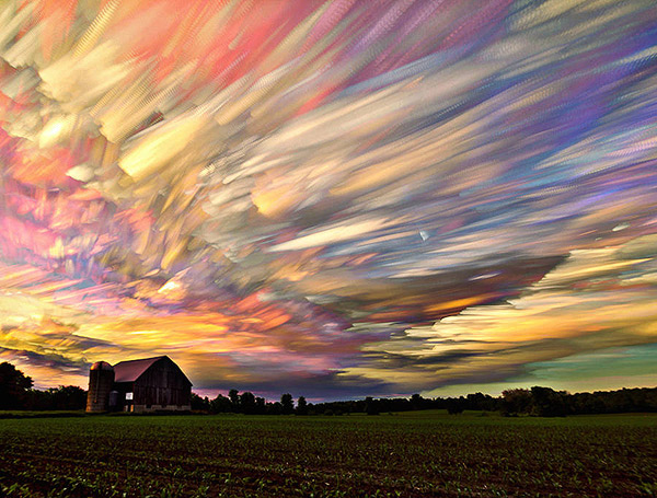 What Happens When Time-lapse Photos Are Digitally Stacked Together – BOOOOOOOM! – CREATE * INSPIRE * COMMUNITY * ART * DESIGN * MUSIC * FILM * PHOTO * PROJECTS