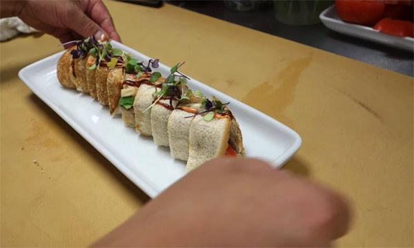 Big Mac Sushi by Chef Hiroyuki Terada