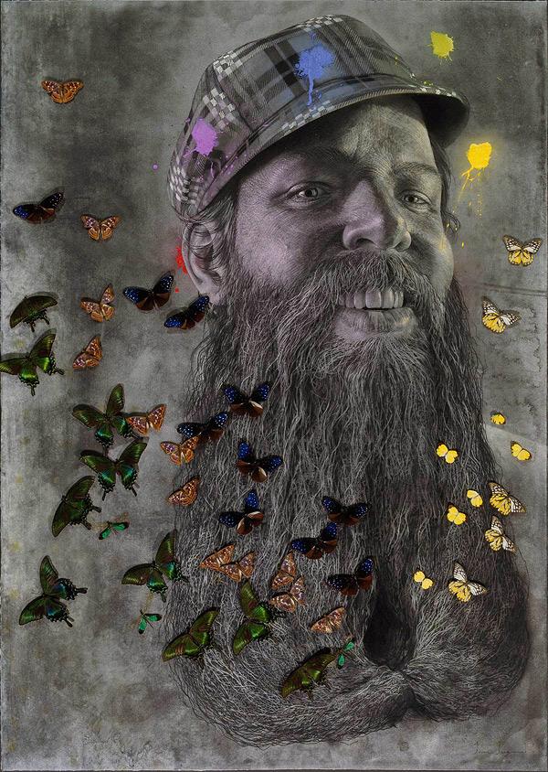 experimental  portraits  artist ian ingram