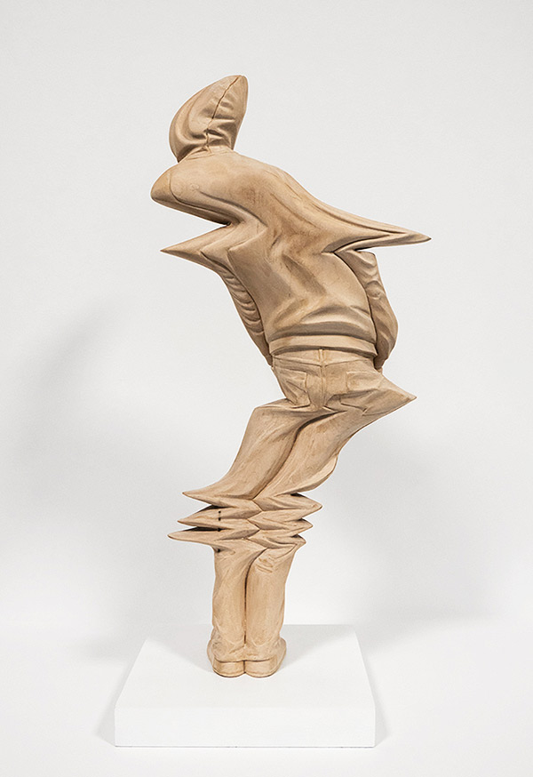 Warped Wood Sculptures By Artist Paul Kaptein Booooooom
