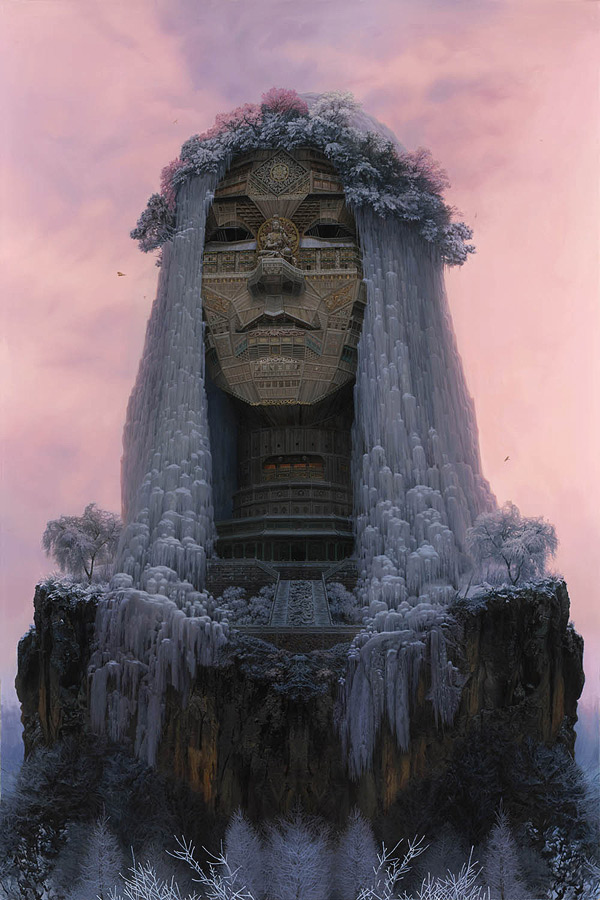 Incredible Temple Like Portraits Of Chinese Rock Musicians
