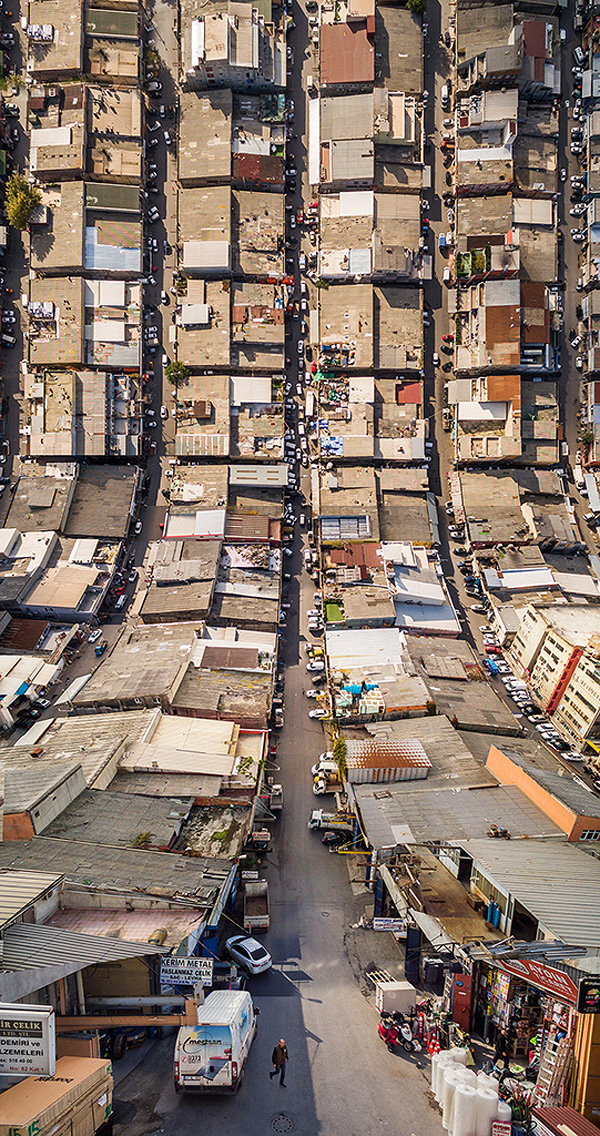 Photographer Aydin Buyuktas Background In Film And Visual Effects Really Shows Flatland A Cinematic Series Of Drone Footage Digitally Manipulated To
