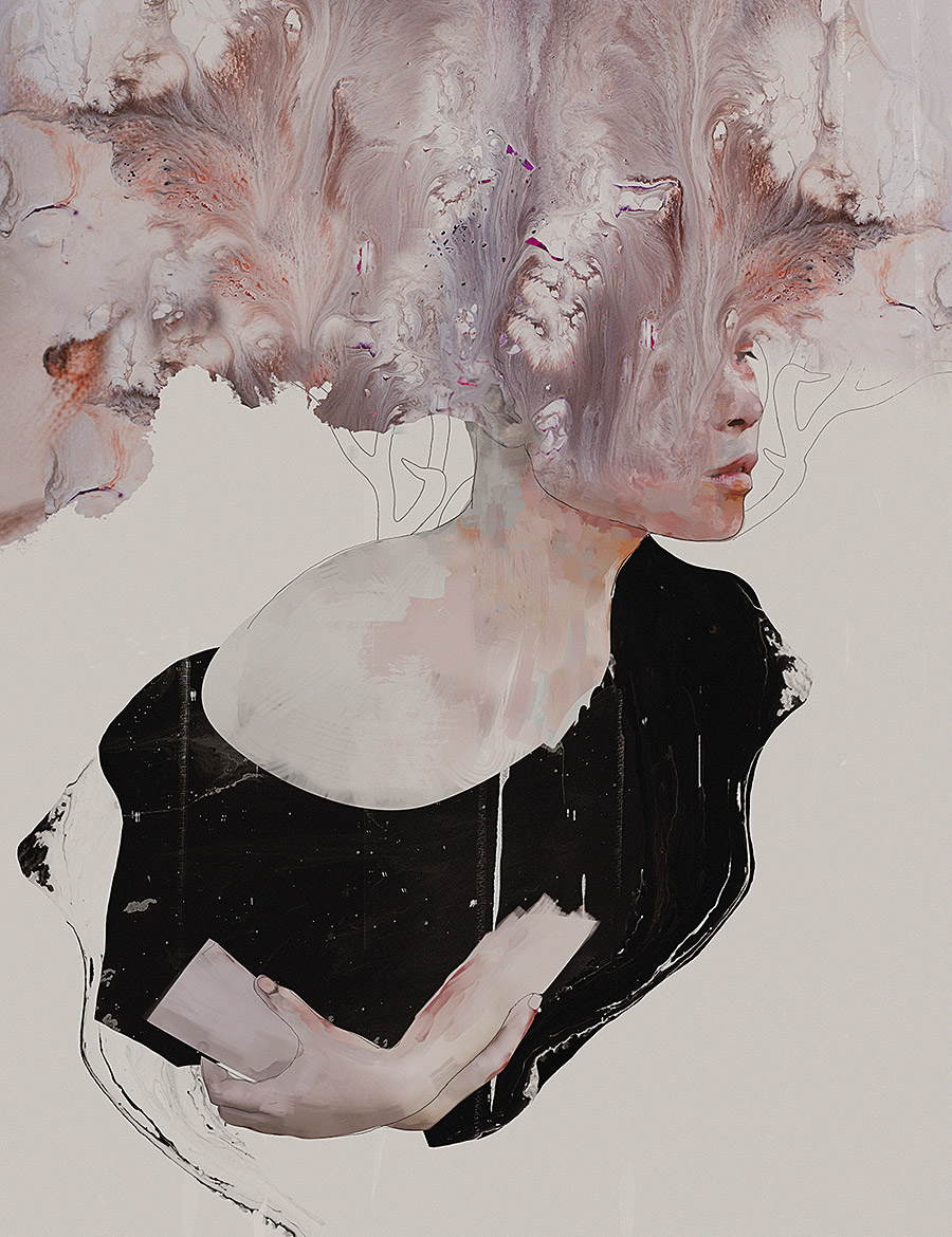 Artist spotlight januz miralles booooooom create for Tumblr painting art