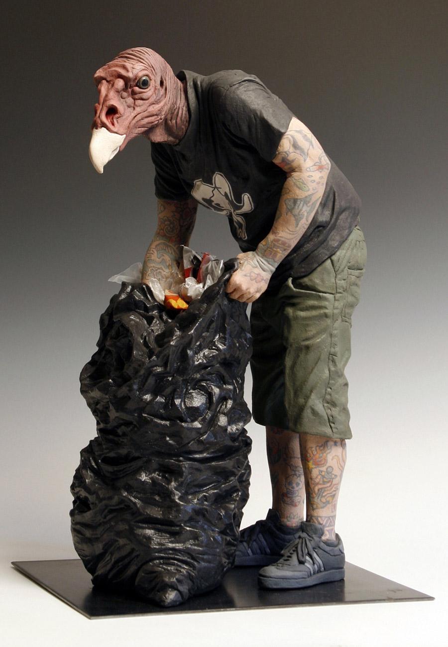 hybrid sculptures by artist alessandro gallo  u2013 booooooom