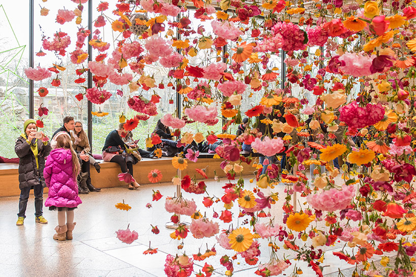 Artist Rebecca Louise Law S Hanging Installation Of 30 000