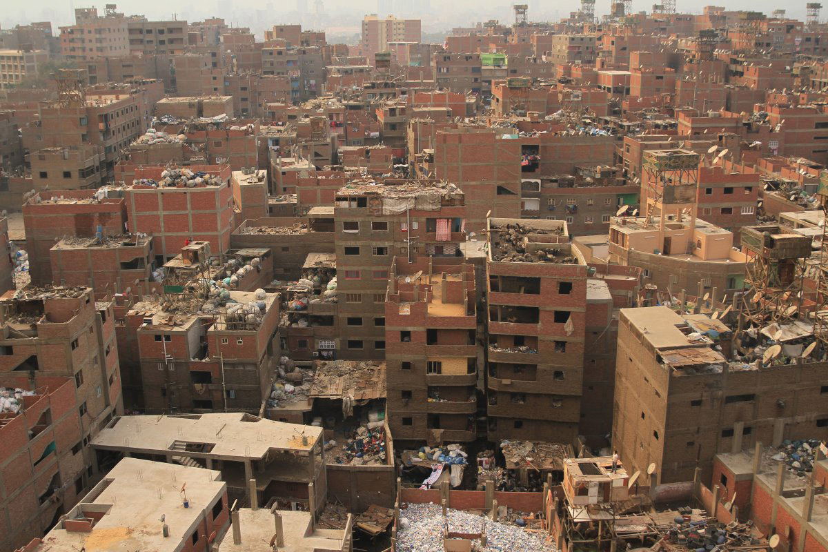 Massive Mural In Cairo Stretches Across Over 50 Buildings
