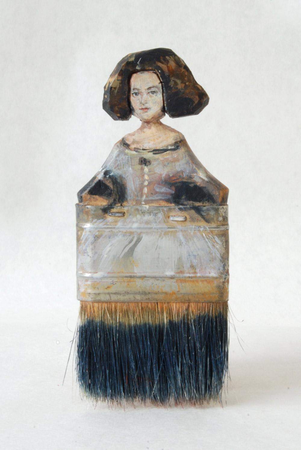 artist rebecca szeto transforms old paintbrushes into