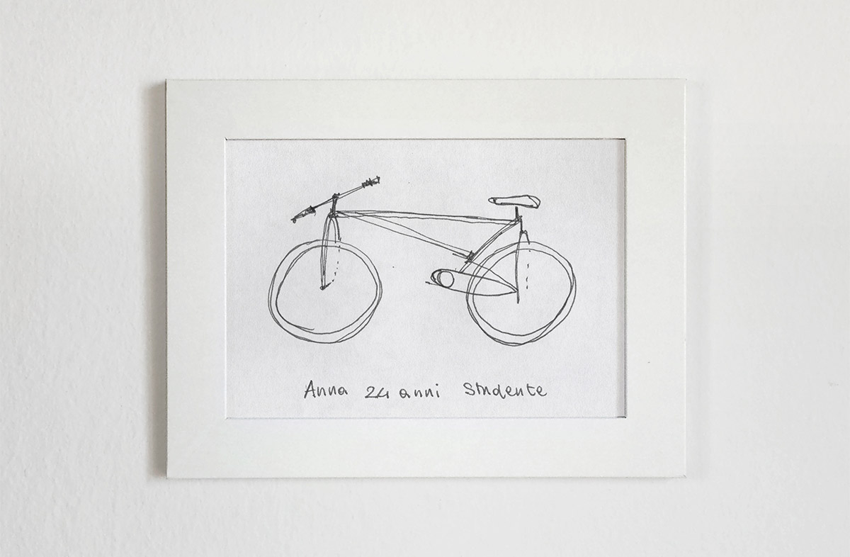 bicycles built based on people s attempts to draw them from memory