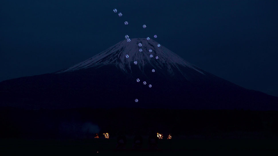 drone-ballet-mtfuji
