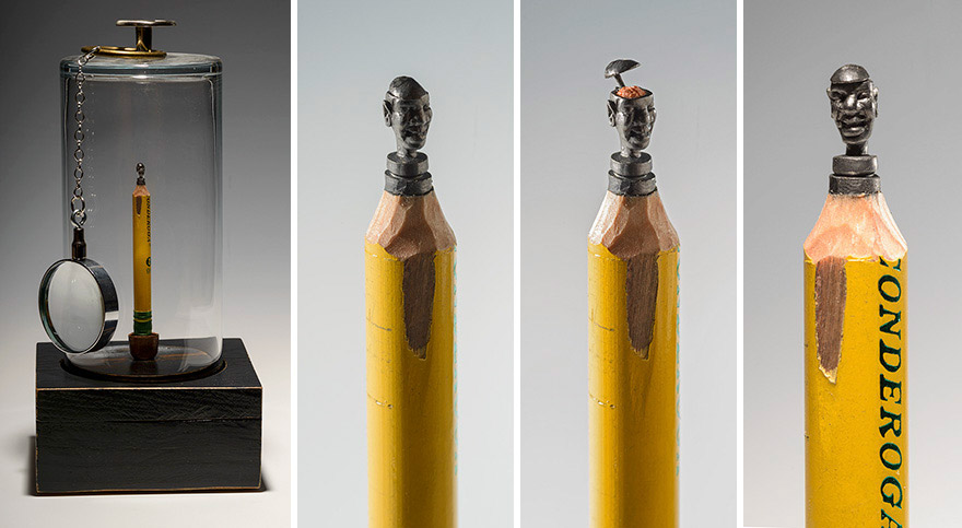 Incredibly detailed pencil carvings by artist cindy chinn