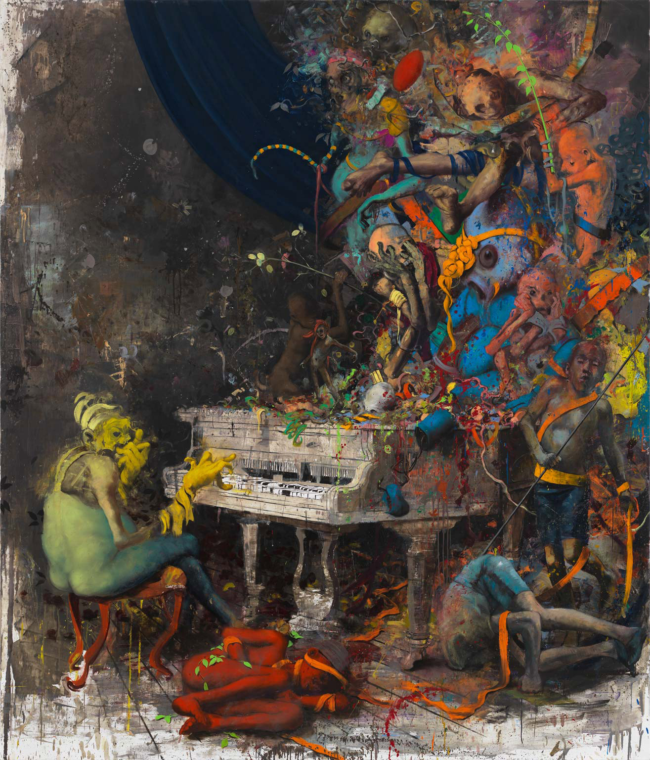 Artist spotlight jonas burgert booooooom create for The art of painting