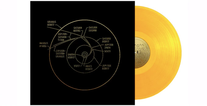 Best Of Kickstarter The Voyager Golden Record Booooooom