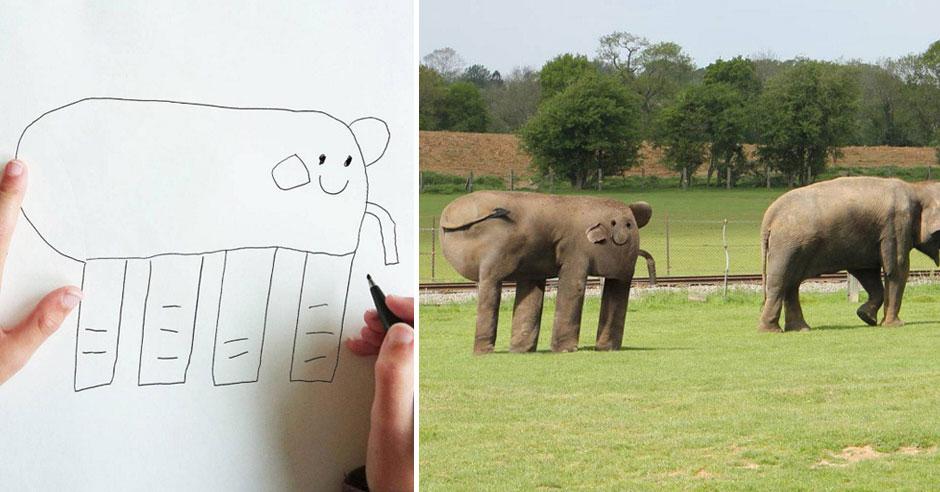 Year Old Kids Drawings