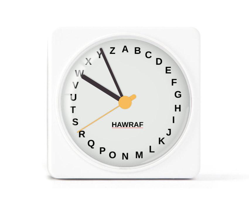 hawraf-clock