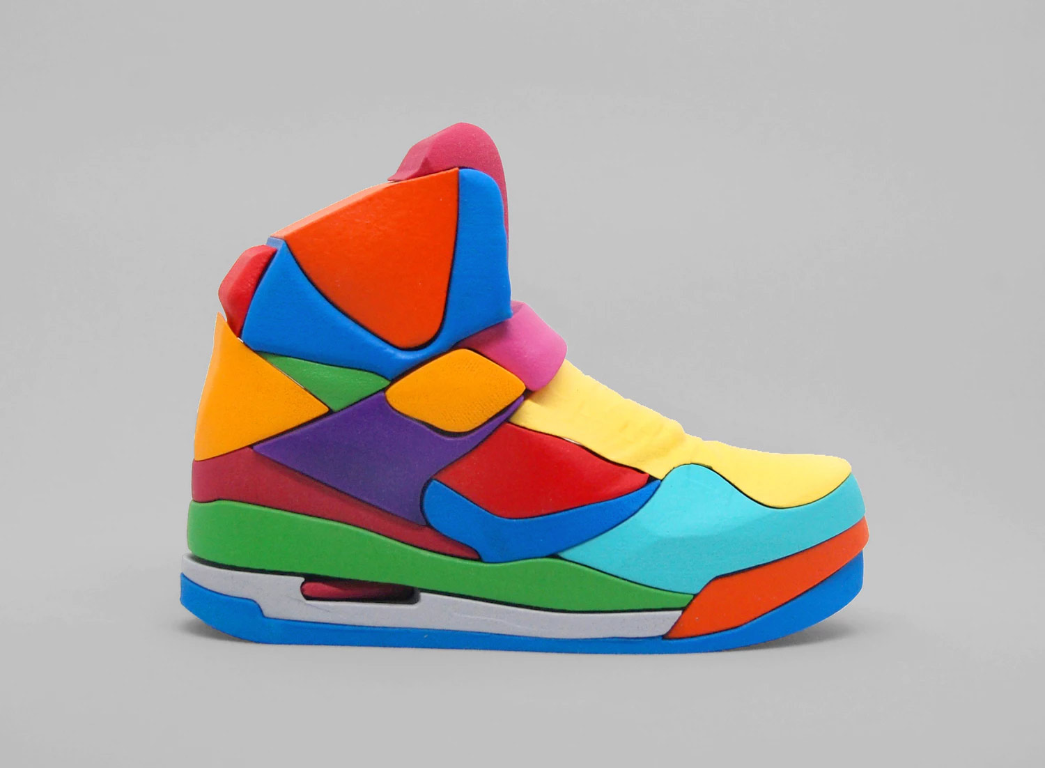 AIR JORDAN 45 HIGH 3D PUZZLE by Yoni Alter