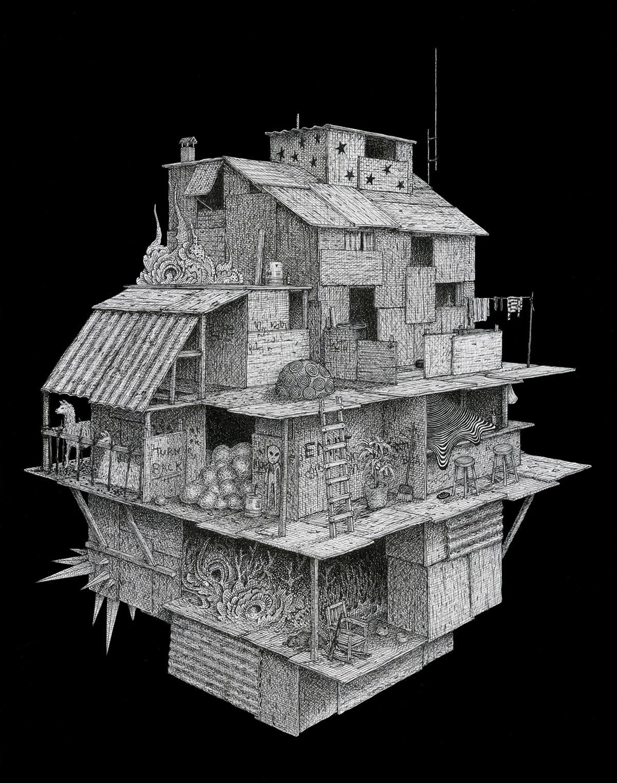 Desenhos fantástico de Ben Tolman Artes & contextos Tolman10